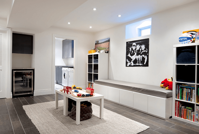 Creating space with the right storage