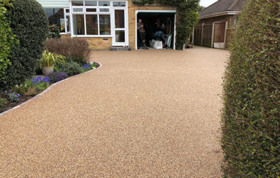 Resin driveways The choice of the new-age experts